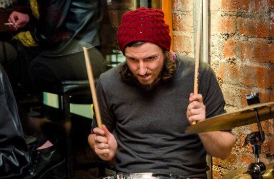Brendan Doyle Drum Practice