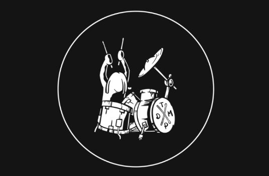 The Drum Practice Illustration